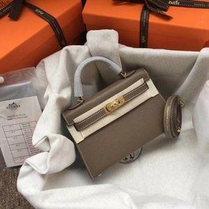 Hermes Kelly Shoulder bag Check description